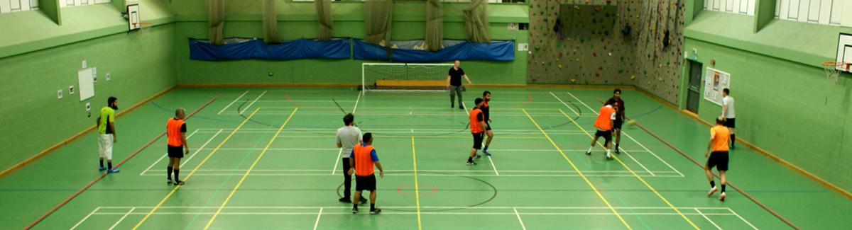 KHVIII School Sports Centre Hall Football