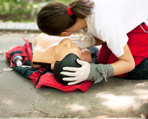 KHVIII School Sports Centre FIRST AID